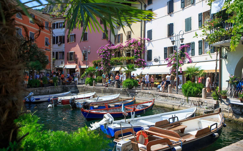 Limone Garda Lake Serenissima Republic of Venice
